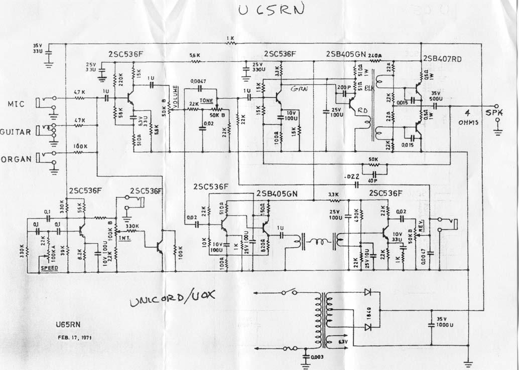 schematicsStage 25 Amp Schematics #2